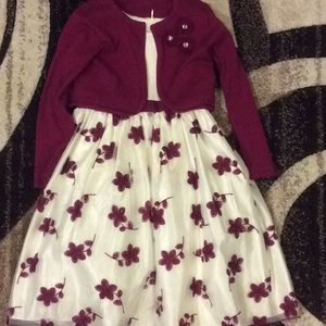 2 pc dressy dress for your little princess